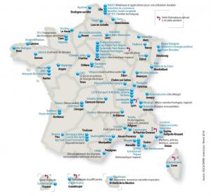 Les 71 pôles de compétitivité français couvrent tous les domaines, sur tout le pays