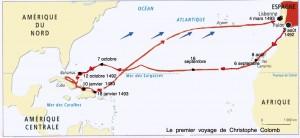 Si Christophe Colomb avait fait partie des premiers de la classe et ne s'était pas trompé sur la distance qui le séparait de l'Asie, il n'aurait pas entrepris le voyage ...