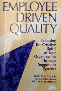 Management de l'innovation - employee driven quality