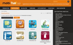 Mobitour propose des applications en ligne dans le domaine concurrencé du tourisme