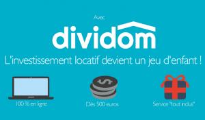 dividom permet d'être propriétaire dès 50 € ...
