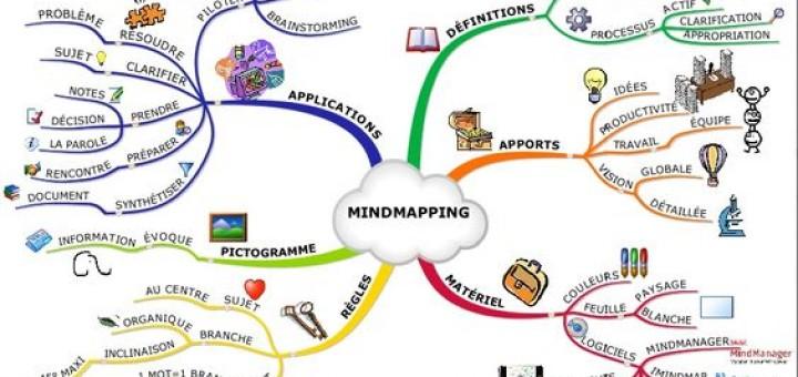 la carte heuristique ou mind map les cahiers de l 39 innovation. Black Bedroom Furniture Sets. Home Design Ideas