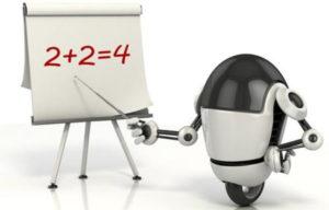 Robot prof pour élèves robots