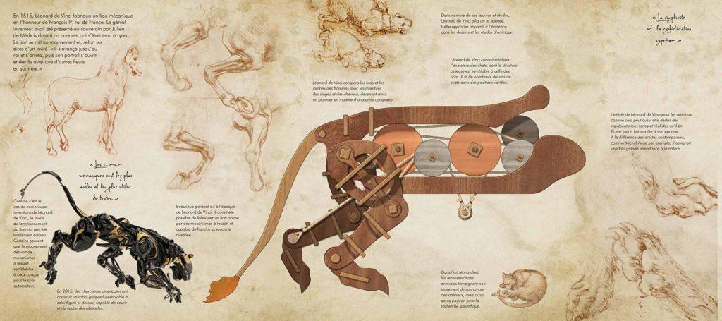 Les incroyables automates de Léonard de Vinci